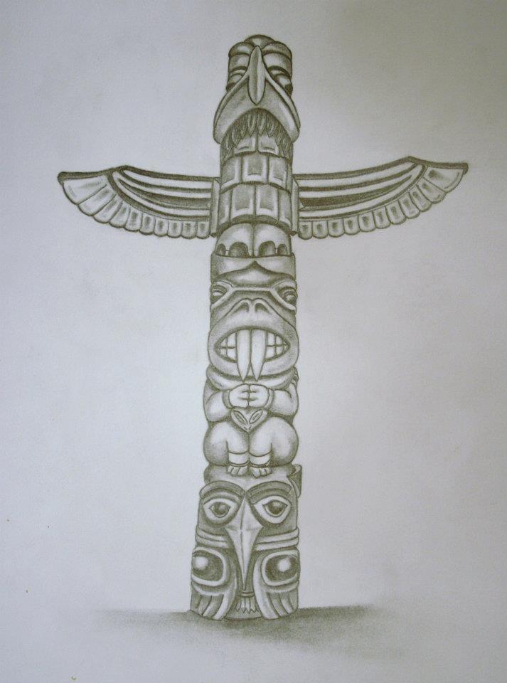 Totem Pole Totem Tattoo Totem Pole Tattoo Totem Pole