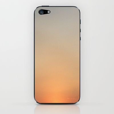 Sunset iPhone & iPod Skin by alkinoos