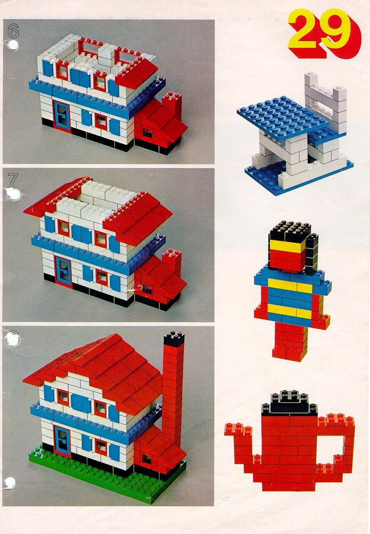 Lots and lots of directions!!! Books - Building Ideas Book [Lego 222]