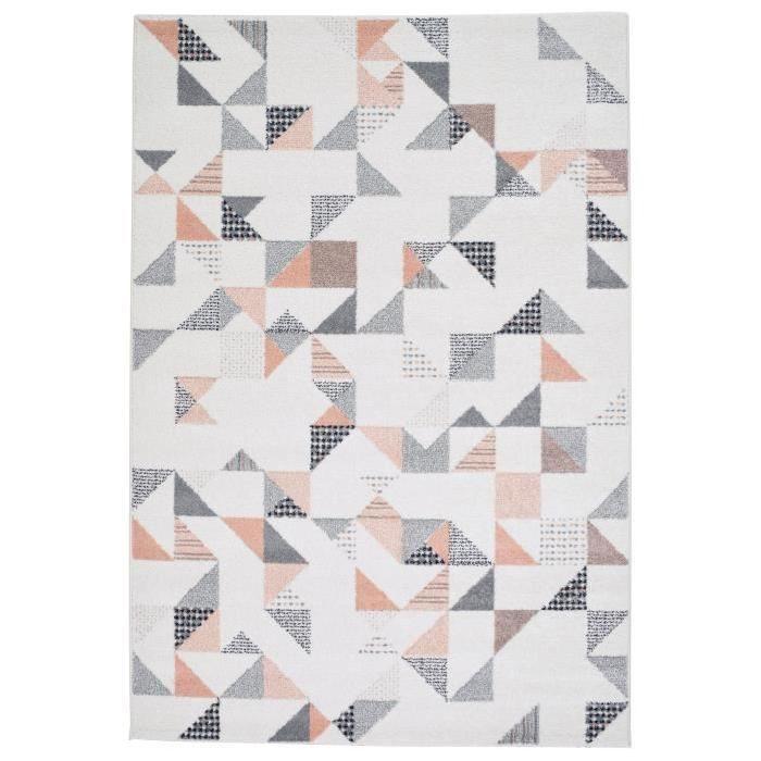 Tapis de salon color style moderne 120x170 cm beige