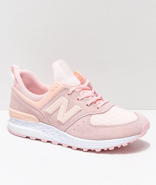 new product bf576 c7297 New Balance Lifestyle 574 Sport Sunrise Glow Shoes