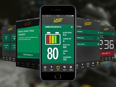 Battery Tender App by Shaun Whalen