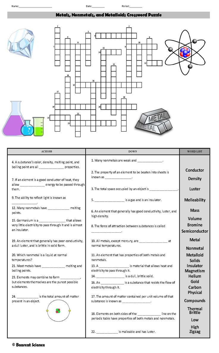 Elements And Compounds Word Search Worksheet Answers