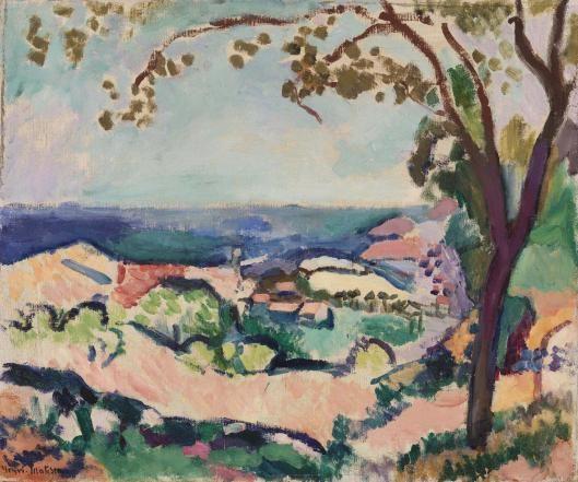 Henri Matisse The Sea Seen From Collioure La Mer Vue De