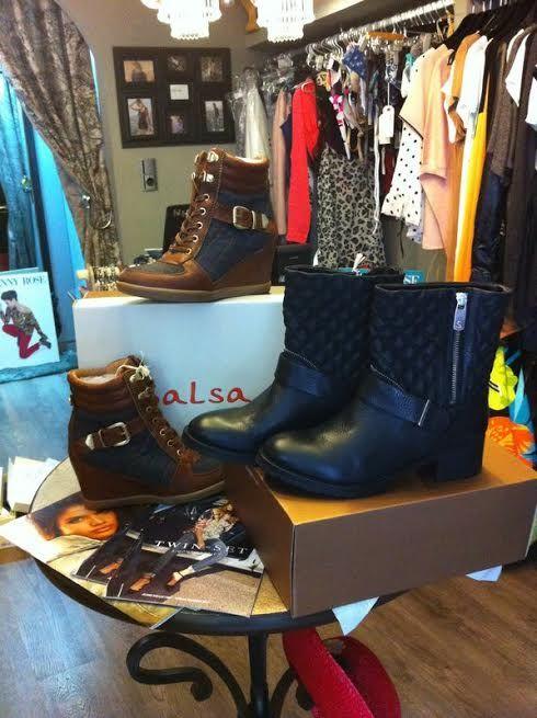 Avance de la colección otoño-invierno 2014/2015 de botas de Salsa
