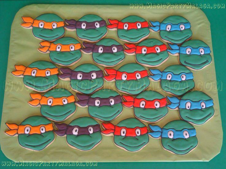 Galletas Decoradas Tortugas Ninja