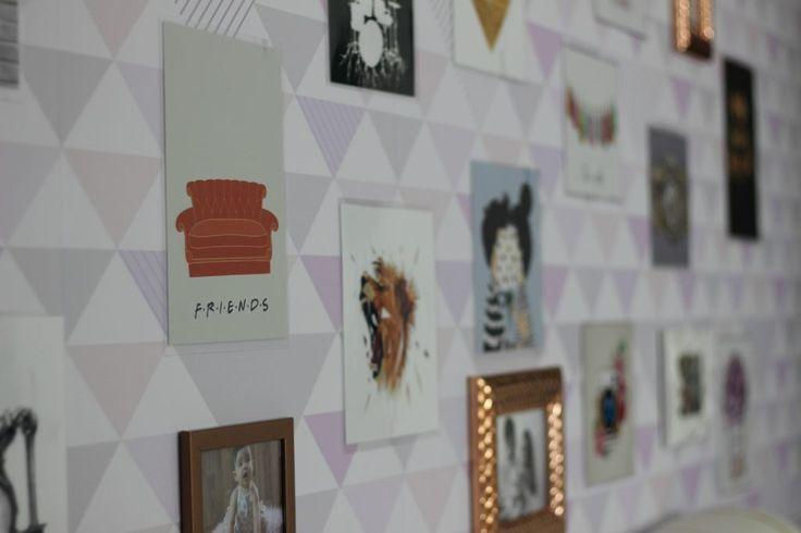 Plaquinhas para decoração quarto Pinterest