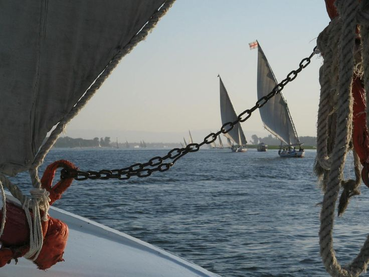 Afternoon on the Nile River, Luxor Photo: David Yustin