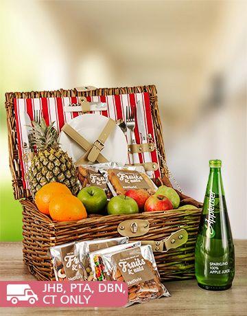 Fruit: Fruit and Nut Picnic Basket!