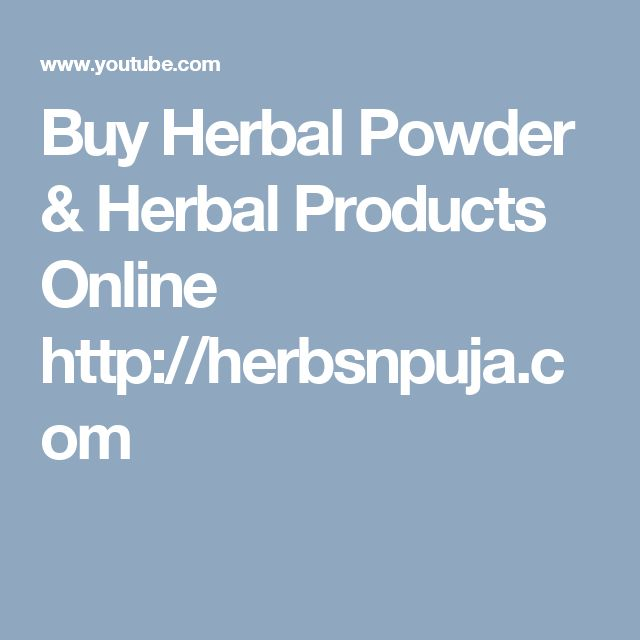 Buy Herbal Powder & Herbal Products Online http://herbsnpuja.com