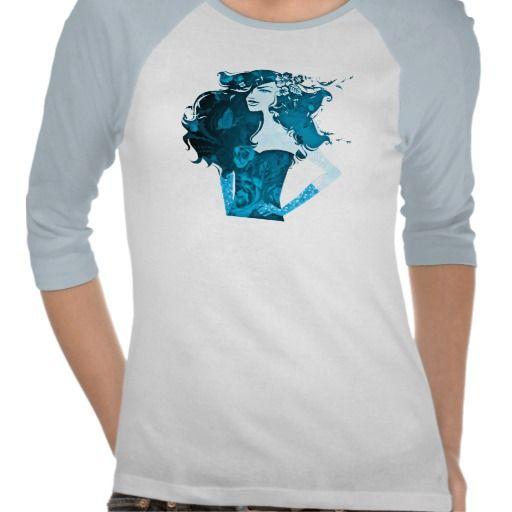 girl power_blue tshirts