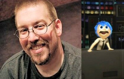 Patrick Seitz [as Bill's Joy] (Voices by LukaChanDisney @Pinterest) #InsideOut
