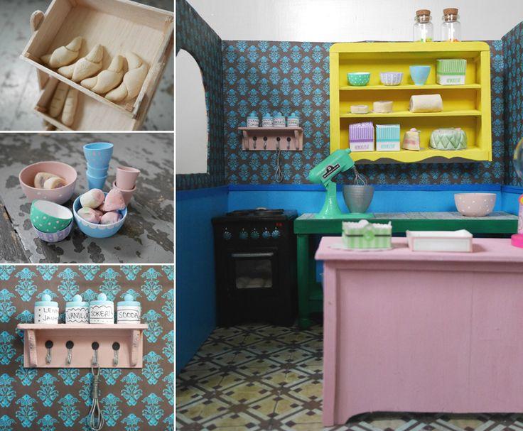 miniature (bratz -doll sized) bakery diy