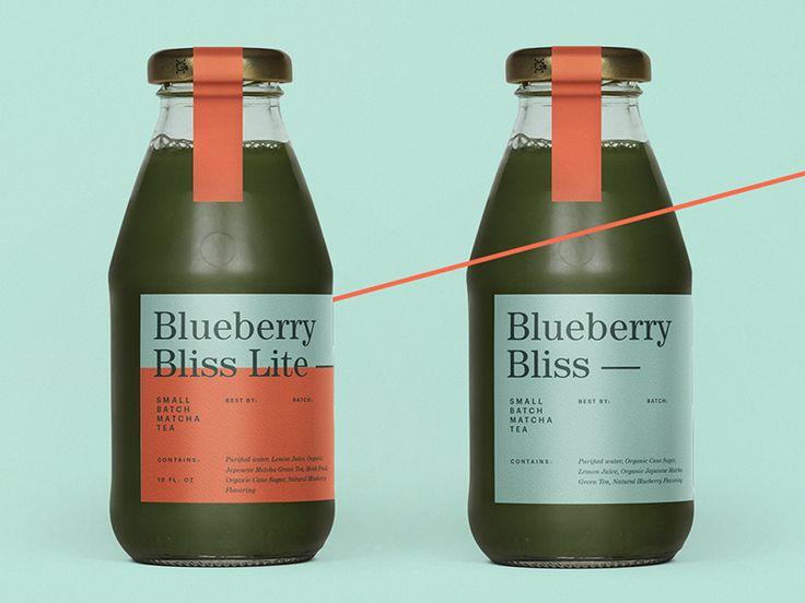Min's Matcha Tea by Kenny Coil #Design Popular #Dribbble #shots
