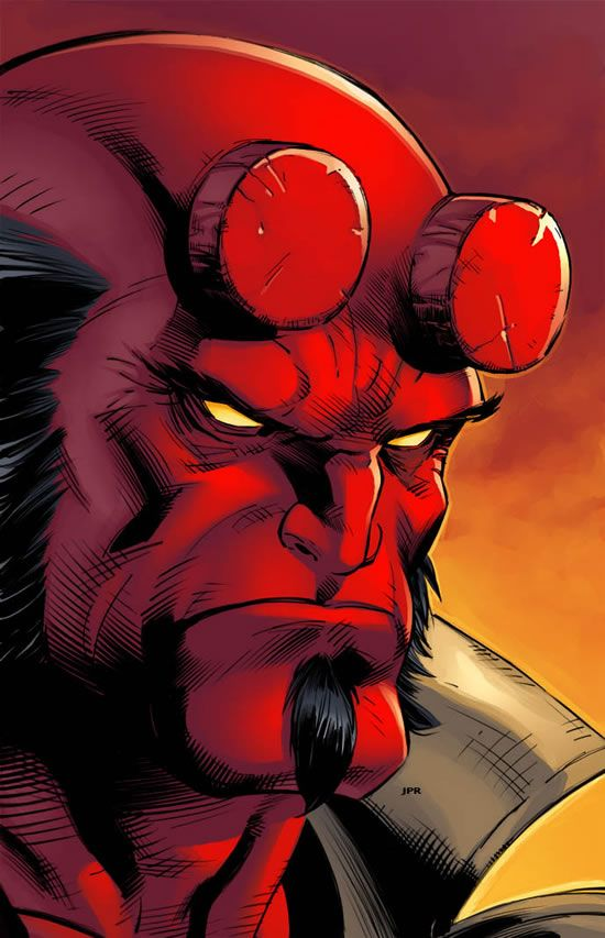 Comic Character Inspiration: Hellboy | Abduzeedo | Graphic Design Inspiration and Photoshop Tutorials