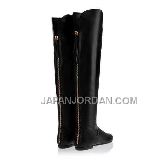 http://www.japanjordan.com/giuseppe-zanotti-womens-flat-boots-black-calfskin-leather.html GIUSEPPE ZANOTTI WOMENS FLAT BOOTS 黑 CALF-SKIN LEATHER オンライン Only ¥16,427 , Free Shipping!