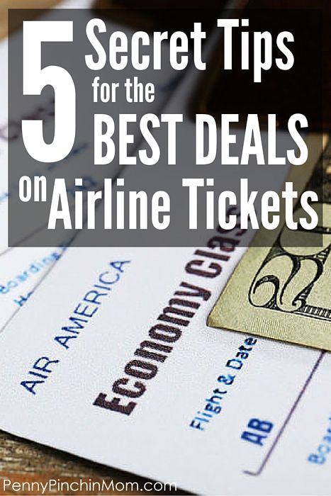 This is a MUST PIN! This article shares the best tips to help you save money when you book your next flight - so you always get the best deal!