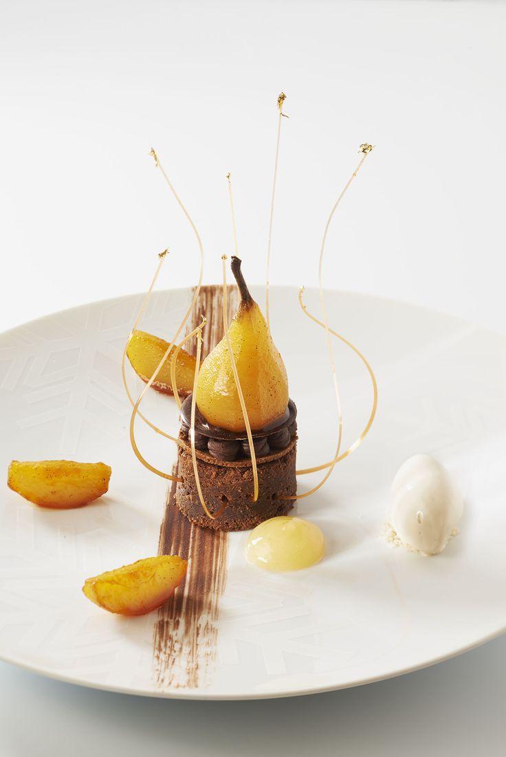 25 b sta dessert gastronomique id erna p pinterest for Cuisine moleculaire paris