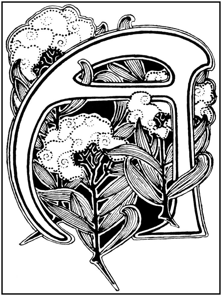 One Of Many Examples How Beautiful Can Be Art Nouveau Lettering Incredible Historical Used Till The Modern Days We Live In Today