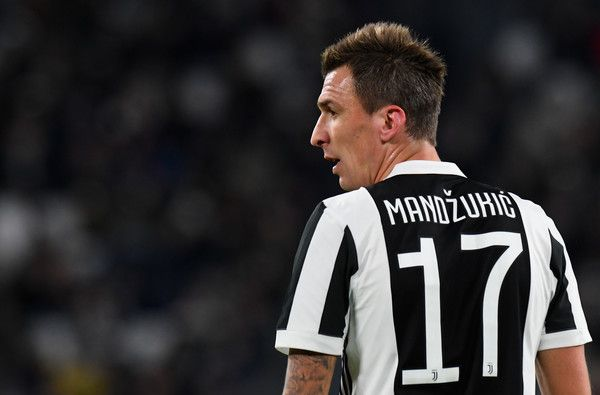 Mario Mandzukic of Juventus looks on during the Serie A match between Juventus and FC Crotone at Allianz Stadium on November 26, 2017 in Turin, Italy.