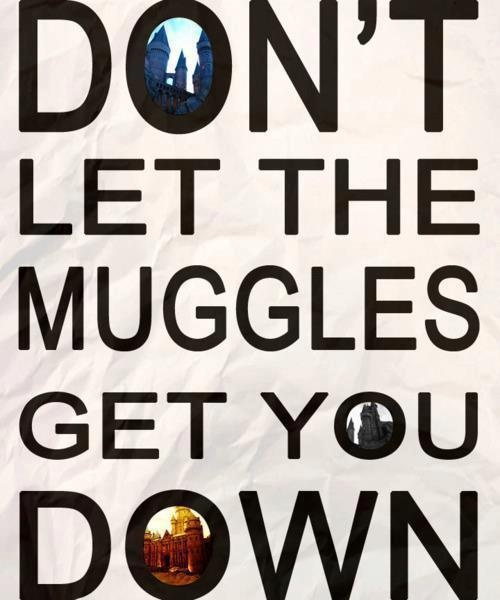 Muggles: Magic, Hogwarts, Muggl, Don'T Let, Life Mottos, Harry Potter, Ron Weasley, Coff Cups, Inspiration Quotes