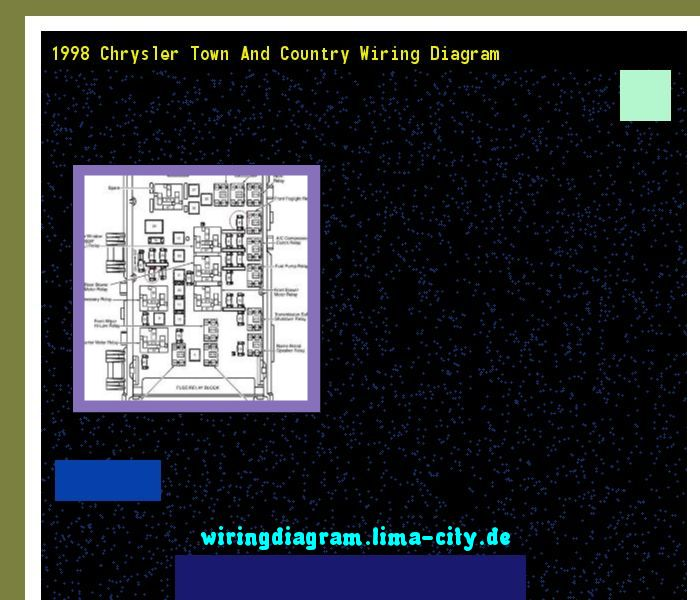 1998 Chrysler Town And Country Wiring Diagram  Wiring Diagram 175314