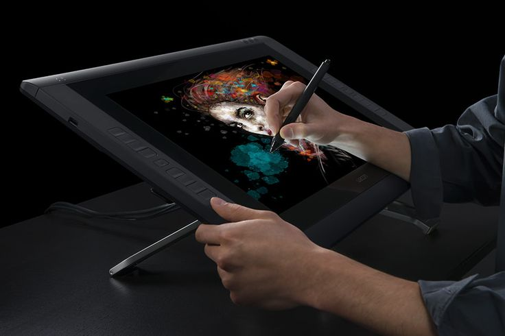 """Wacom 22"""" Cintiq: I always had a problem with disconnect between what I drew and the screen when I used the smaller wacom tablets. I started with the 12wx, and moved up to this one: I cannot believe I ever did art without it."""