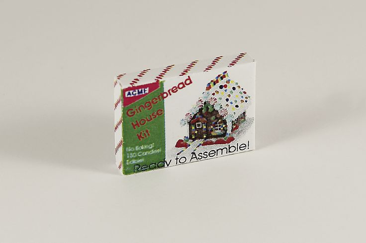 Gingerbread House Kit Box
