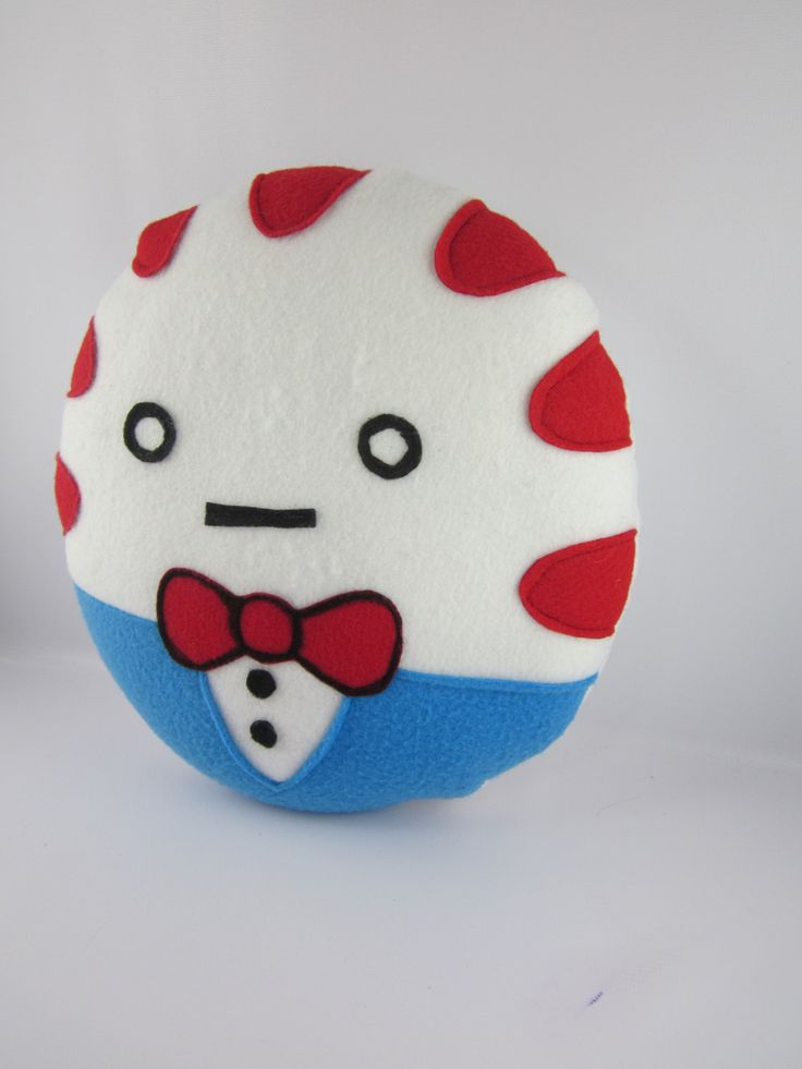 Adventure Time Plush - Made to Order - Peppermint Butler Pillow. $30.00, via Etsy.
