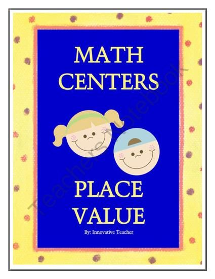 Innovative Classroom Worksheets ~ Best images about place value on pinterest math