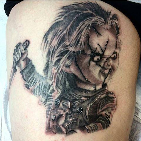 Best 25 chucky tattoo ideas on pinterest tiffany chucky for Bride of chucky tattoo