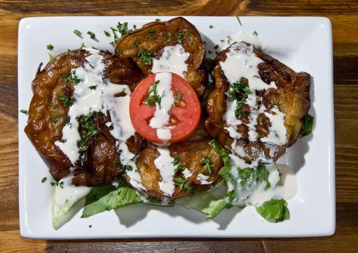 The Greek Pita Place: Ethnic Food in Salisbury, MD - Greek Eggplant