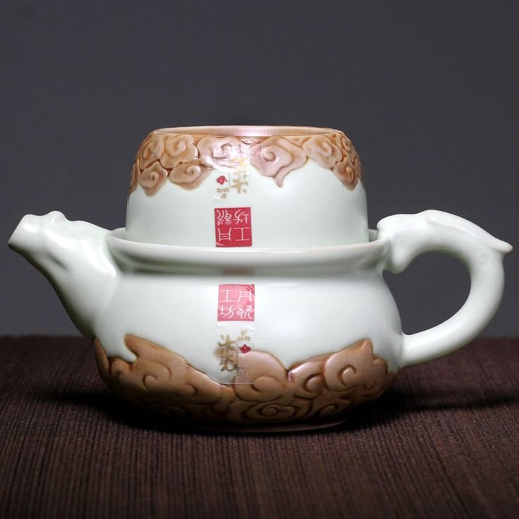 2015 Teapot Tea Pot Pigmented 2 No Miland Spring!! New Design Yunyin Chinese Tea Set One Pot Cup Special Travel Ceramic Cups -in Coffee & Tea Sets from Home & Garden on Aliexpress.com | Alibaba Group