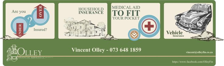 Short term insurance - covered!  Let us assess your current insurance status and draw up a possibly more cost-effective quote :) https://www.facebook.com/OlleyFin