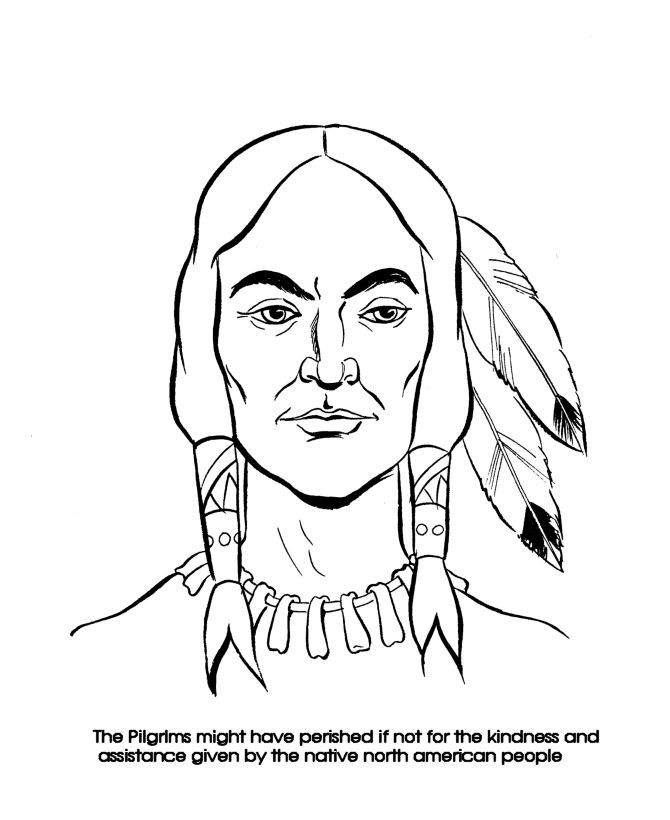 17 best ideas about thanksgiving coloring pages on for Squanto coloring pages