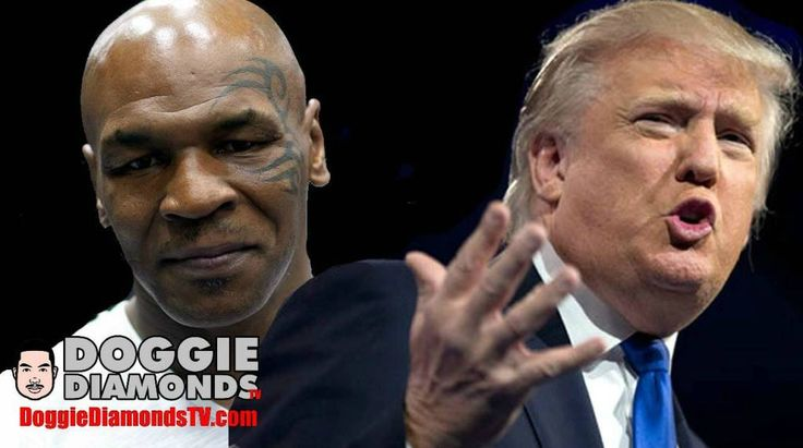 Audio: @DoggieDiamonds Explains Why Mike Tyson Is A Fool For Endorsing Donald Trump For President!!!