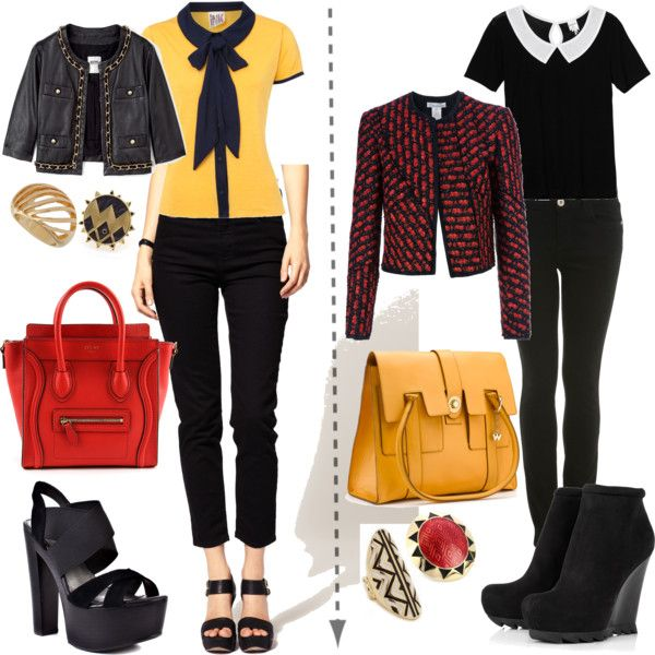 BW and DW goes FG by skugge on Polyvore