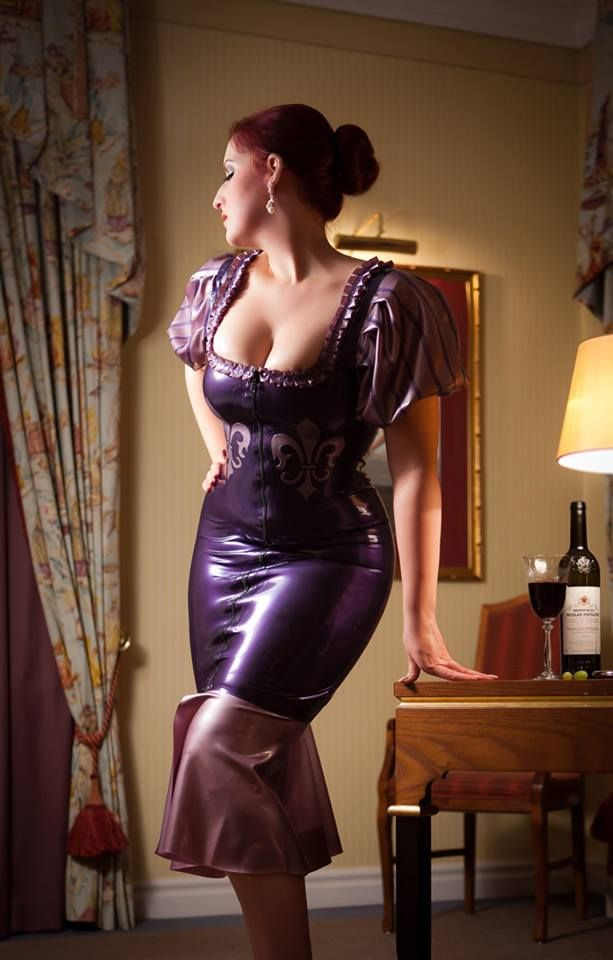 latex dress real escort