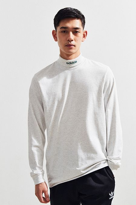 5ad1d2ade54399 adidas Skateboarding Mock Neck Long Sleeve Tee | clothing that ...