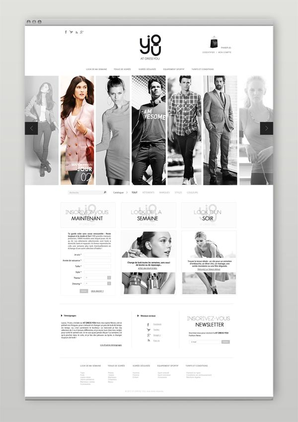 At Dress You on Behance