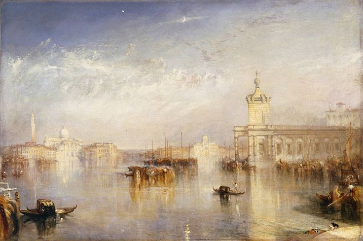 Joseph Mallord William Turner -   The Dogano, San Giorgio, Citella, from the Steps of the Europa exhibited 1842