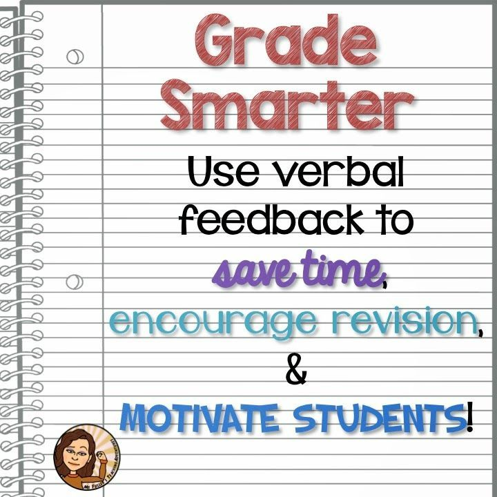Giving feedback students essays