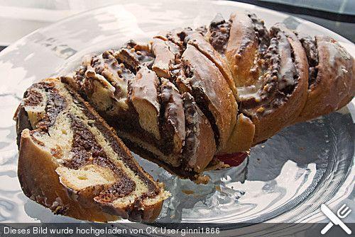 Gartenliebes wonnige Mandel-Nuss-Schlemmerei mit Marzipan und Nutella (Rezept mit Bild) | Chefkoch.de