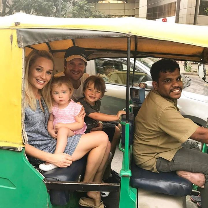 Shane Watson enjoyed a tuk-tuk ride with his family in Bangalore For more cricket fun click: http://ift.tt/2gY9BIZ - http://ift.tt/1ZZ3e4d