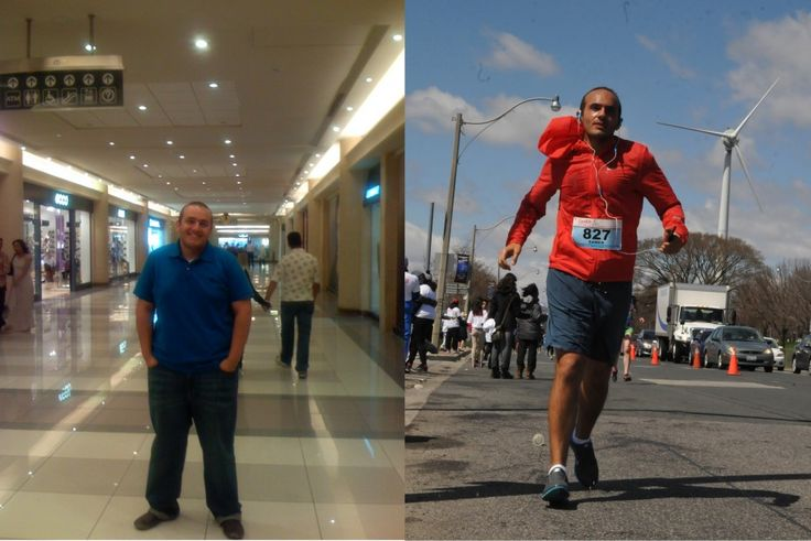 He Lost 55 Kilos to Achieve His Goal