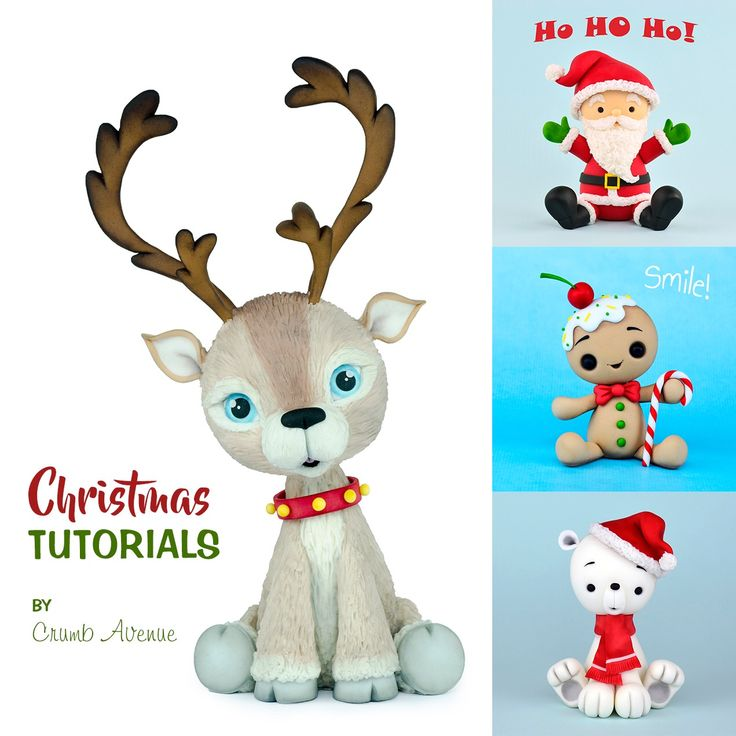 Christmas figure toppers