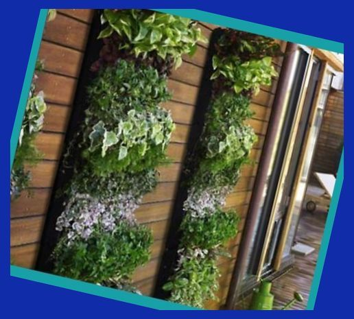 Create Your Own Vertical Garden | How To Build A Synthetic ...