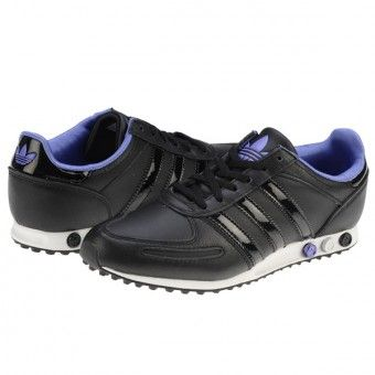 Pantofi sport dama Adidas l.A. Trainer Sleek black-purple