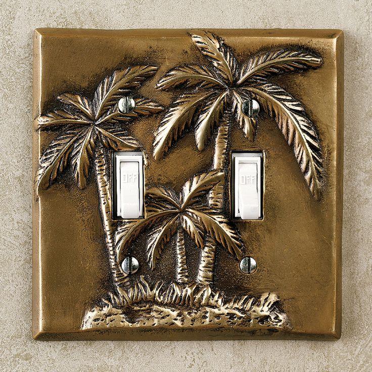 Palm Tree Bedroom Decor Palm Tree Double Switch Antique