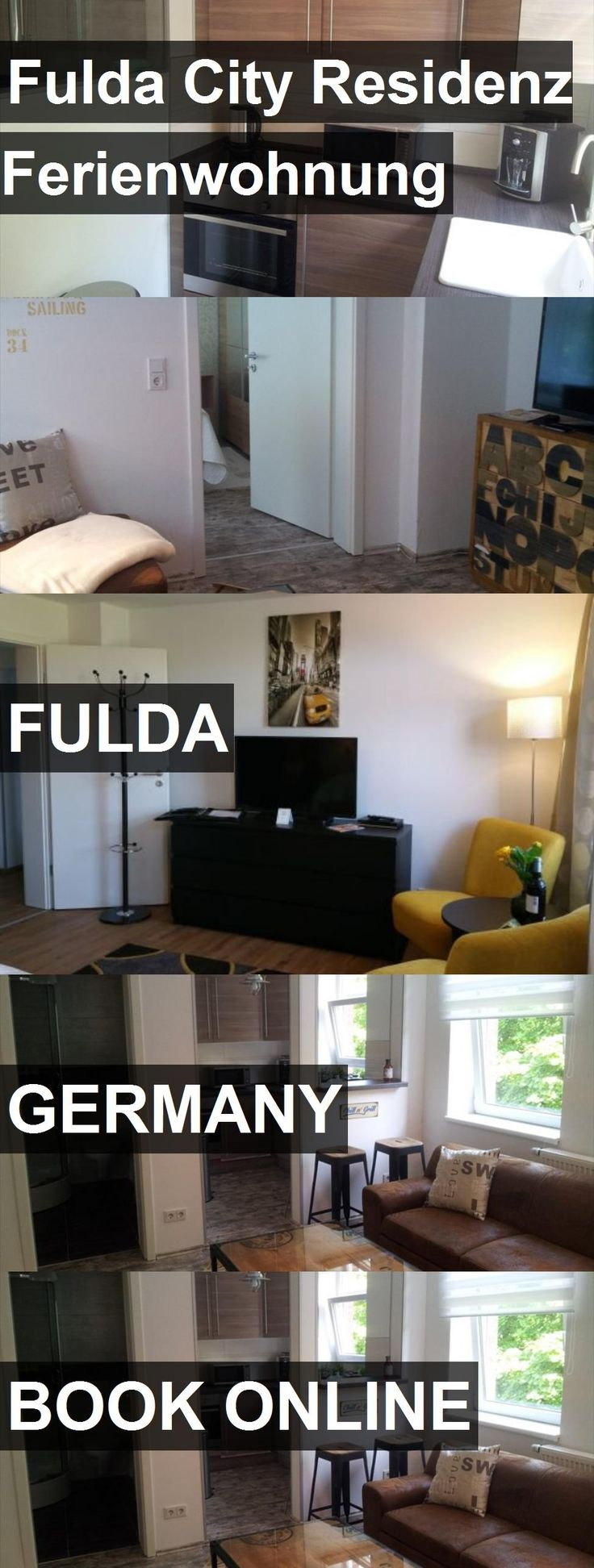 Hotel Fulda City Residenz Ferienwohnung in Fulda, Germany. For more information, photos, reviews and best prices please follow the link. #Germany #Fulda #travel #vacation #hotel